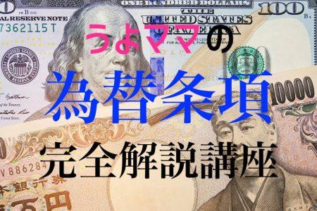 【ドル円】為替条項は問題ナシ?USMCAに学ぶ日米貿易交渉(TAG)の展望【解説】