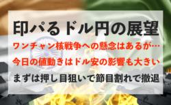 【円高】印パるドル円!第4次&ワンチャン核戦争への懸念はありますが…【2月27日のトレード戦略】