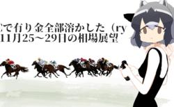 【円安】トランプ大統領の署名と中国の反応に警戒!ジャパンCで(ry【11月25〜29日の為替相場展望】