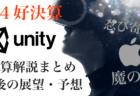 【速報】ユニティ(U)第4四半期決算発表でアフター暴落!予想を上回るもアップルのIDFAアップデートなど…【Unity】