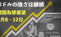 【3月8〜12日の週間為替展望】各国の金利差と中央銀行の姿勢がポイント!米長期金利は上がることはあっても下がることは…